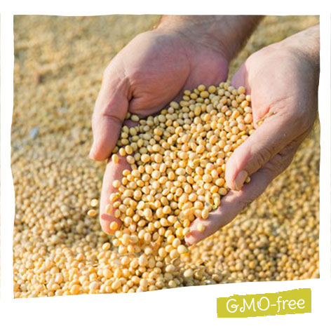 Our soya is French and has been GMO-free since 1995.