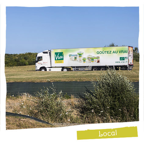 98% of milk is collected from French farmers.nçais.